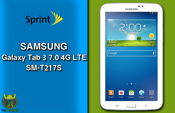 Download T217SVPSBQA1 | Galaxy Tab 3 7.0 (Sprint) SM-T217S
