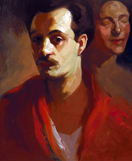 Khalil Gibran , Portraits of Painters, Self Portraits