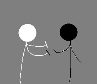 Si Hitam dan Si Putih ~Bagian 1~