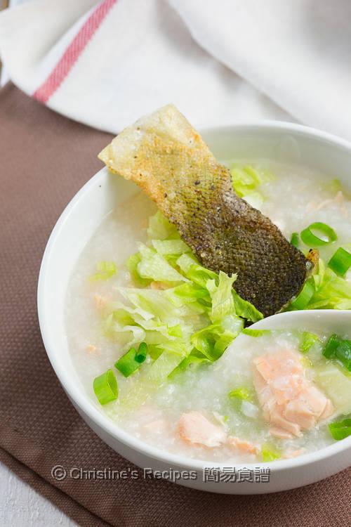 Crispy Salmon Lettuce Congee03