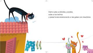 Ilustracion el gato dario CANAM