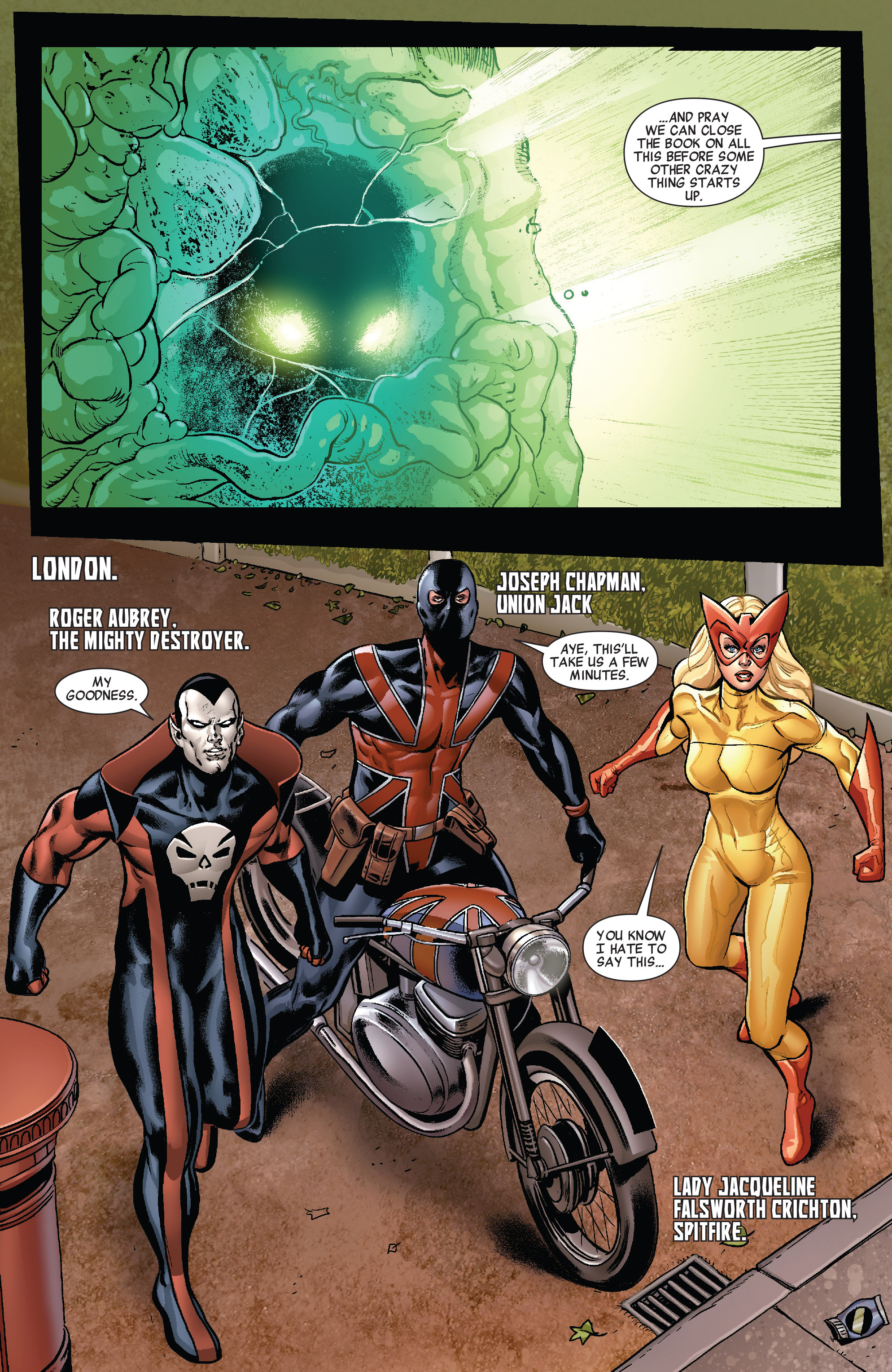 Read online All-New Invaders comic -  Issue #10 - 19