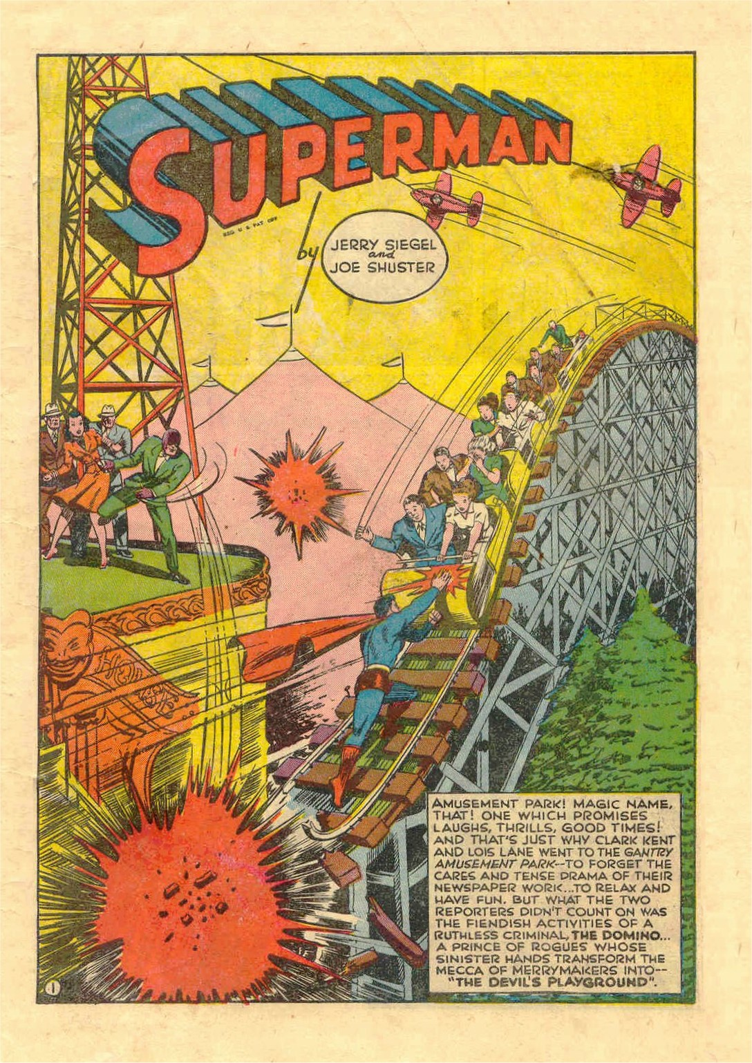 Read online Action Comics (1938) comic -  Issue #46 - 2