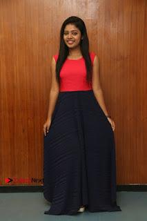 Actress Amala Rose Kurian Stills at Oru Kanavu Pola Movie Press Show  0007.jpg