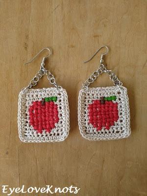https://eyeloveknots.com/2018/08/cross-stitched-apple-earrings-free-crochet-cross-stitch-jewelry-pattern.html