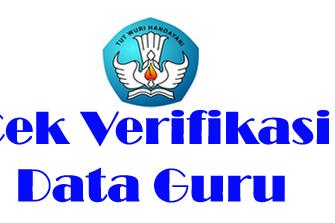 Informasi Verifikasi Data Guru Penerima Sertifikasi 2017