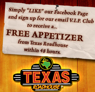 photograph regarding Texas Roadhouse Coupons Printable Free Appetizer named Texas roadhouse discount coupons printable august 2018 - American
