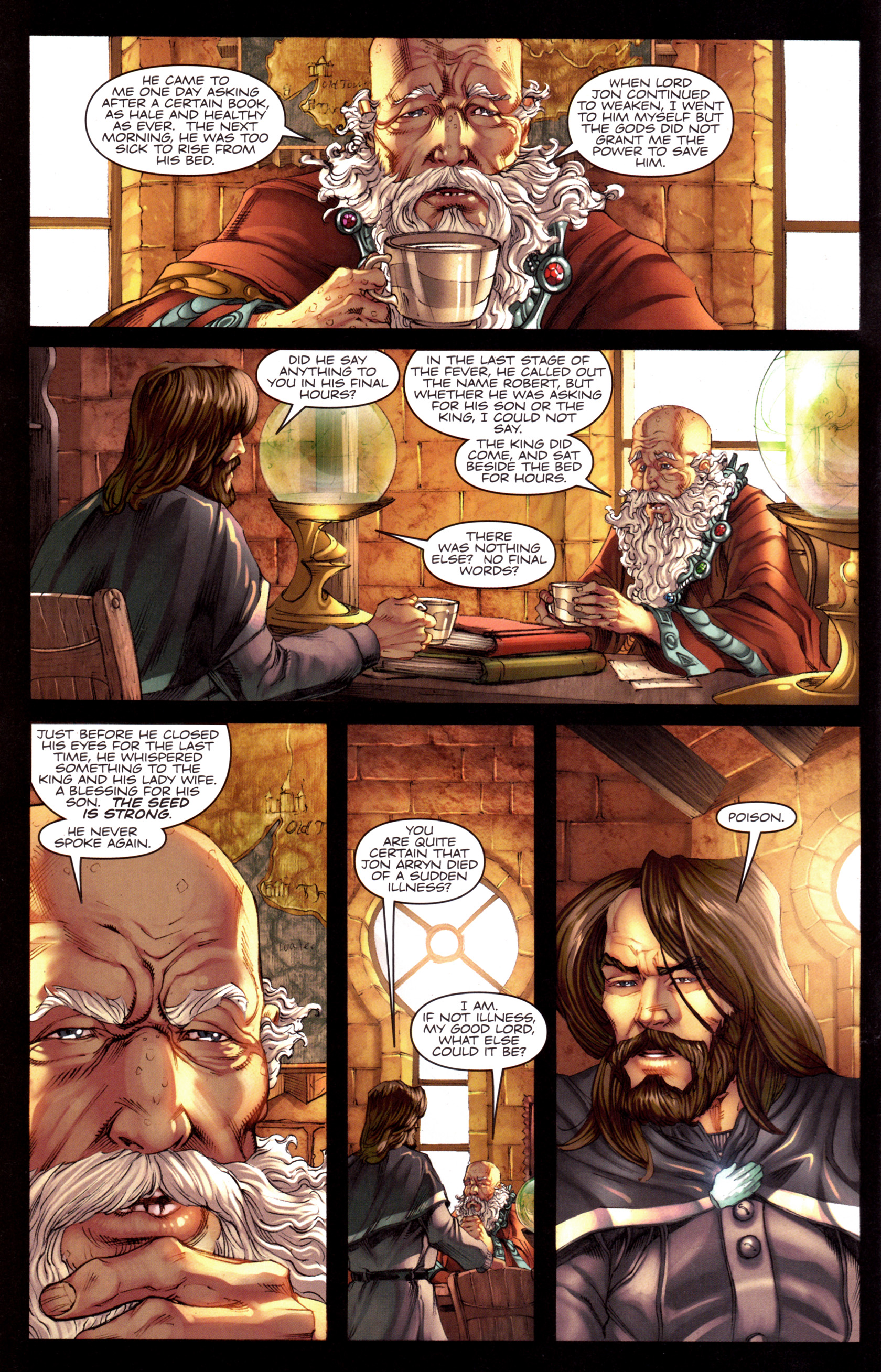 Read online A Game Of Thrones comic -  Issue #8 - 4