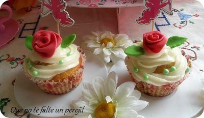 Cups Cakes para Valentín