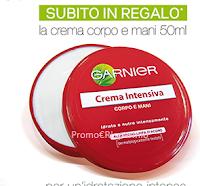Logo BB Cream Garnier ti regala la crema mani e corpo