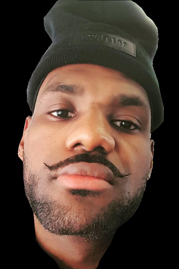 a5186e45316 Sport GIFs   Videos  LeBron James mustache