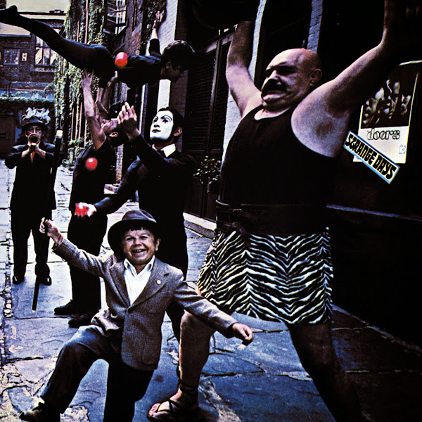 The Doors - Strange Days (40th Anniversary Mixes) Cover