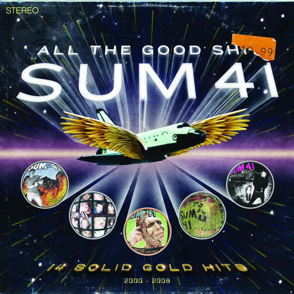 Sum 41 - All the Good Shit. 14 - Solid Gold Hits 2000-2008 (Bonus Track Version) Cover