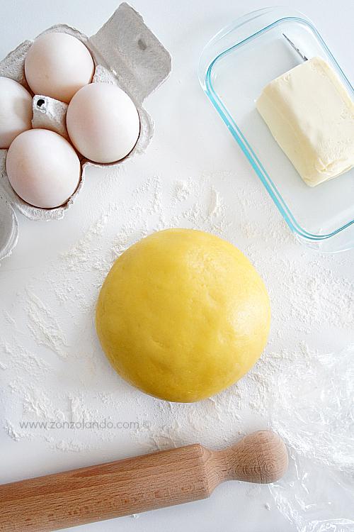 Pasta frolla adatta ad ogni tipo di crostata e biscotto ricetta perfetta - shortcrust pastry shortbread recipe