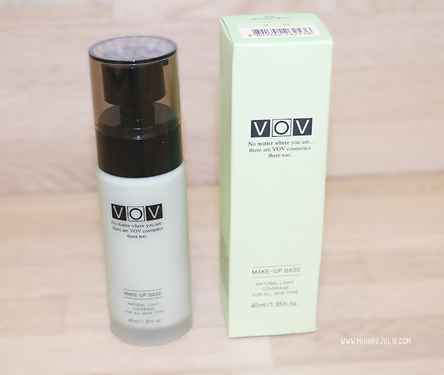 VOV Green Make-Up Base Review