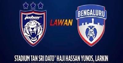 keputusan JDT Vs Bengaluru FC 11 Mei 2016