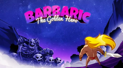 Barbaric The Golden Hero APK MOD