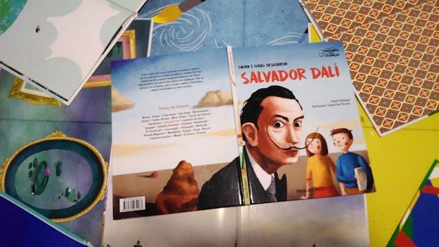 [RESENHA #638] COLEÇÃO FOLHA PINTORES PARA CRIANÇAS - VOL. 12: SALVADOR DALÍ