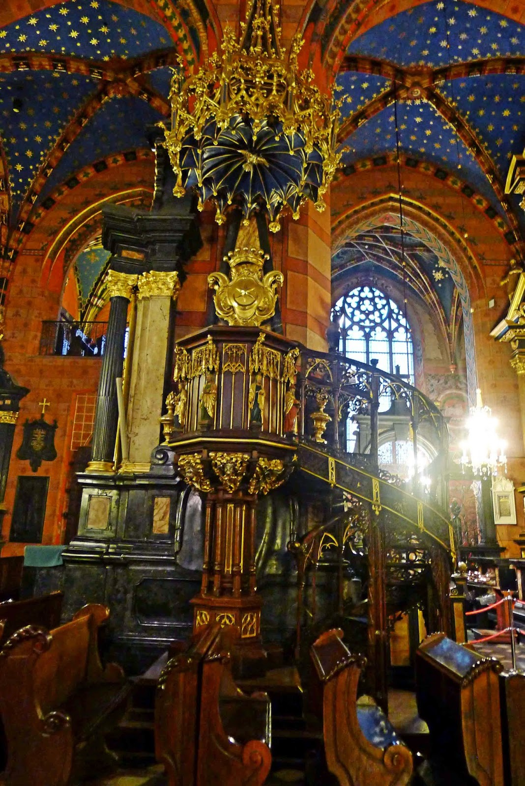 St. Mary's Basilica Pulpit