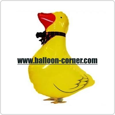 Balon Foil Airwalker Bebek