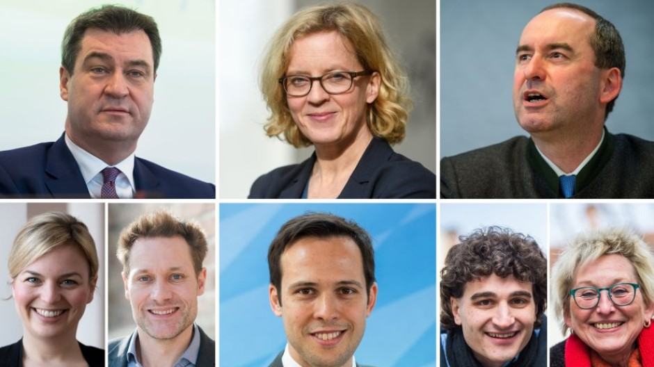 Landtagswahl Bayern Erste Hochrechnung