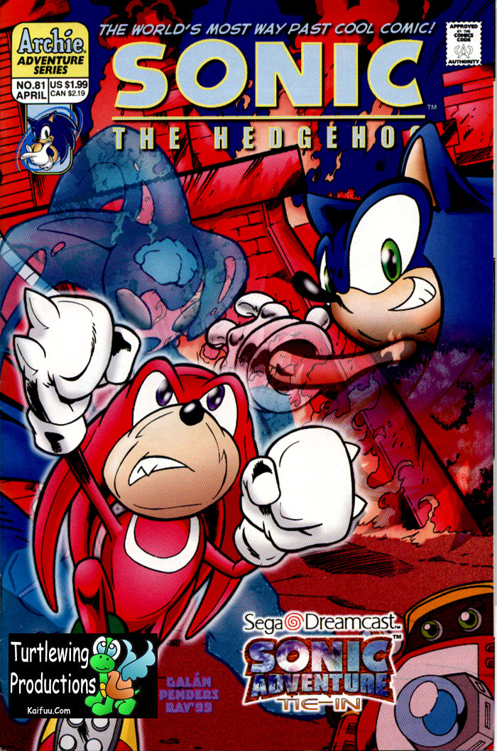 Read online Sonic The Hedgehog comic -  Issue #81 - 1