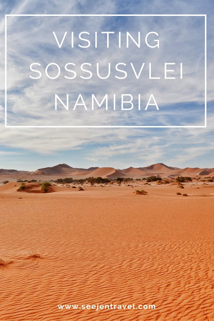 Exploring the dunes of Sossusvlei, Namibia