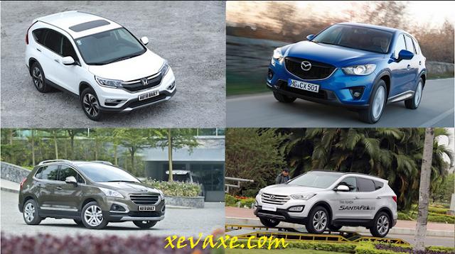 Gia đình nên chọn mua SUV như thế nào?