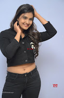Neha Deshpandey in Black Jeans and Crop Top Cute Pics Must see ~  Exclusive Galleries 034.jpg