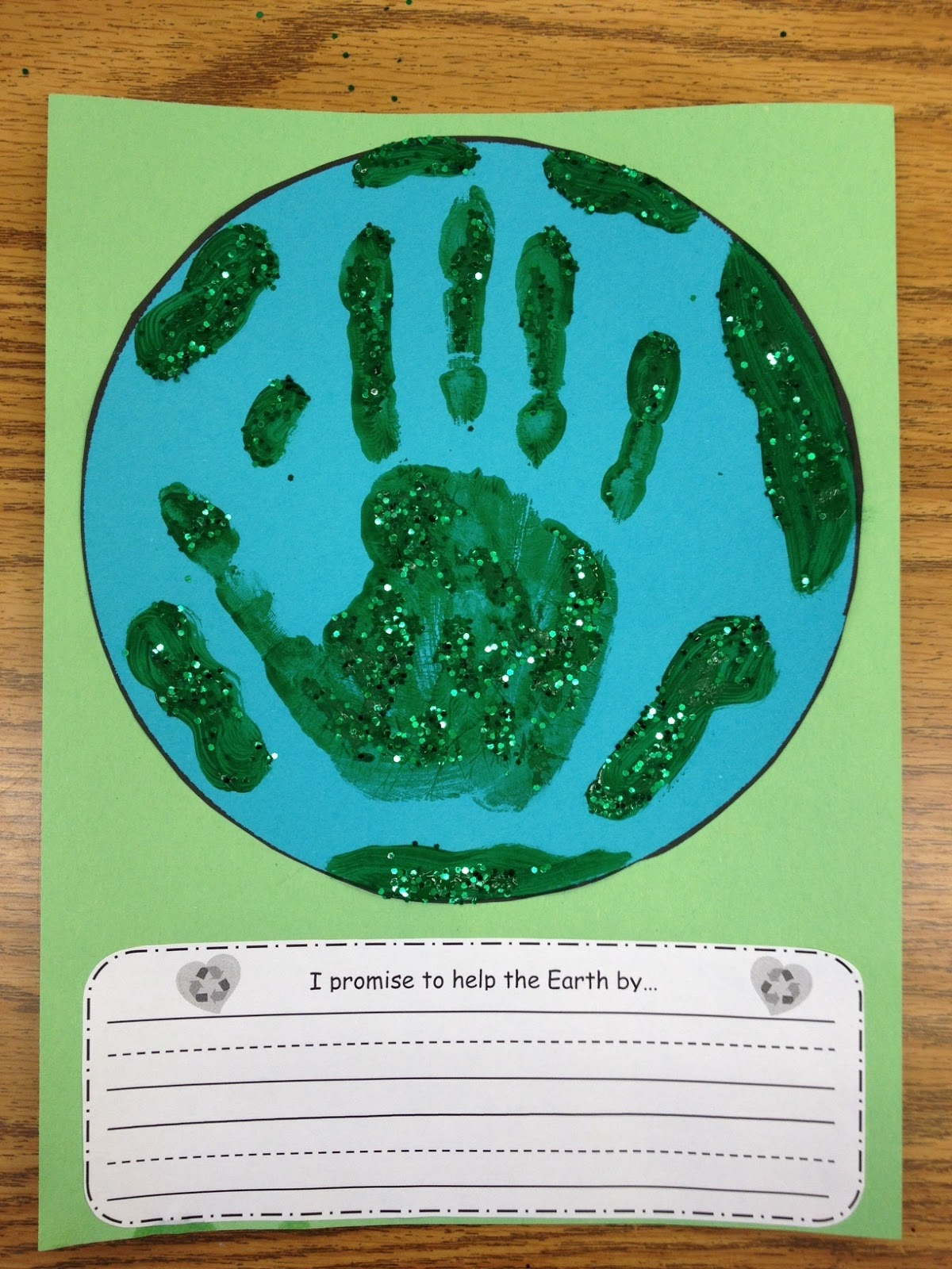 earth+day+promise - Earth Day For Kindergarten