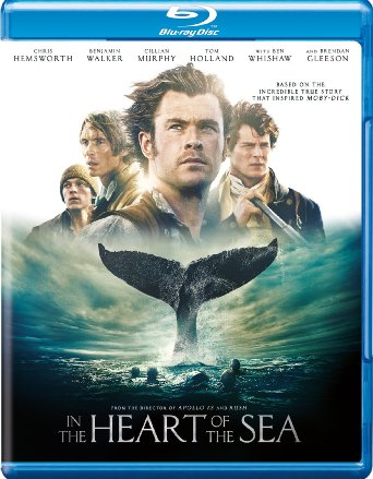 Poster Of In the Heart of the Sea 2015 English 350MB BRRip 480p Free Download Watch Online