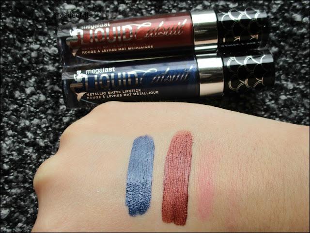 New Wet 'n' Wild Midnight Mermaid Collection + Metallic Liquid Lipstick Swatches!