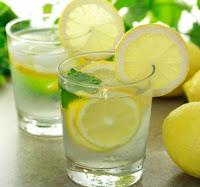 Gelo de limão e laranja