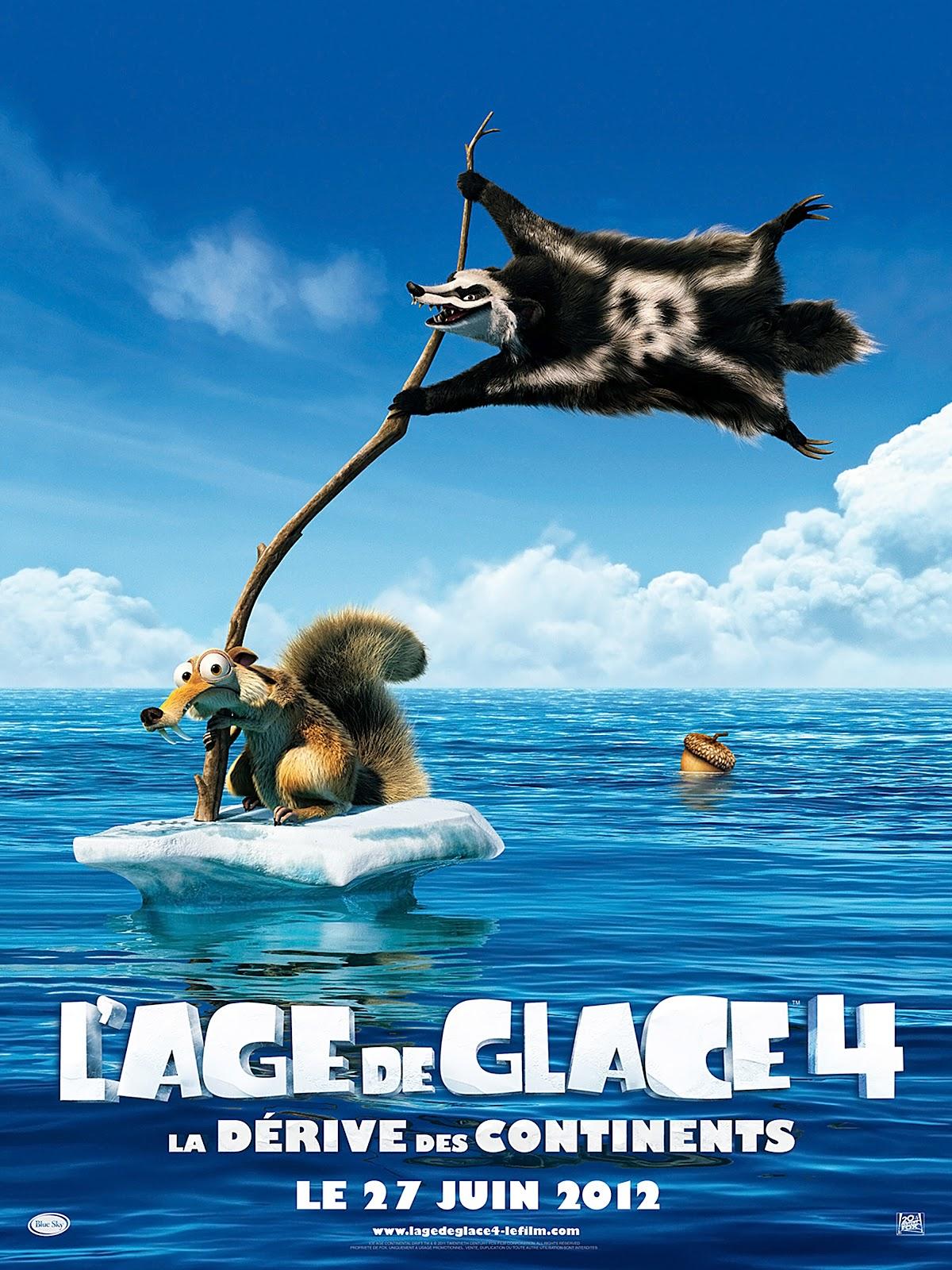 Personnage Age De Glace 4 : personnage, glace, Nouveau, Cinéphile:, L'Age, Glace, Dérive, Continents, Sortie, Aperçu