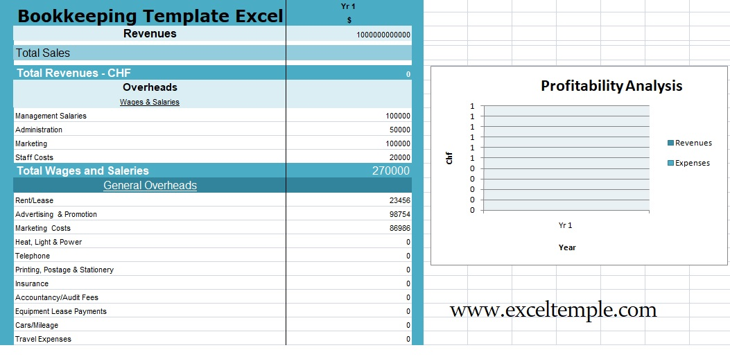 Microsoft Excel Templates Download Bookkeeping Templates Excel