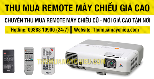 Thu mua Remote máy chiếu các loại giá cao