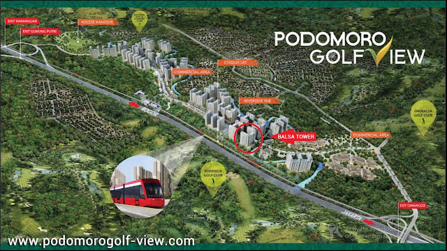Podomoro Golf View Tower Balsa