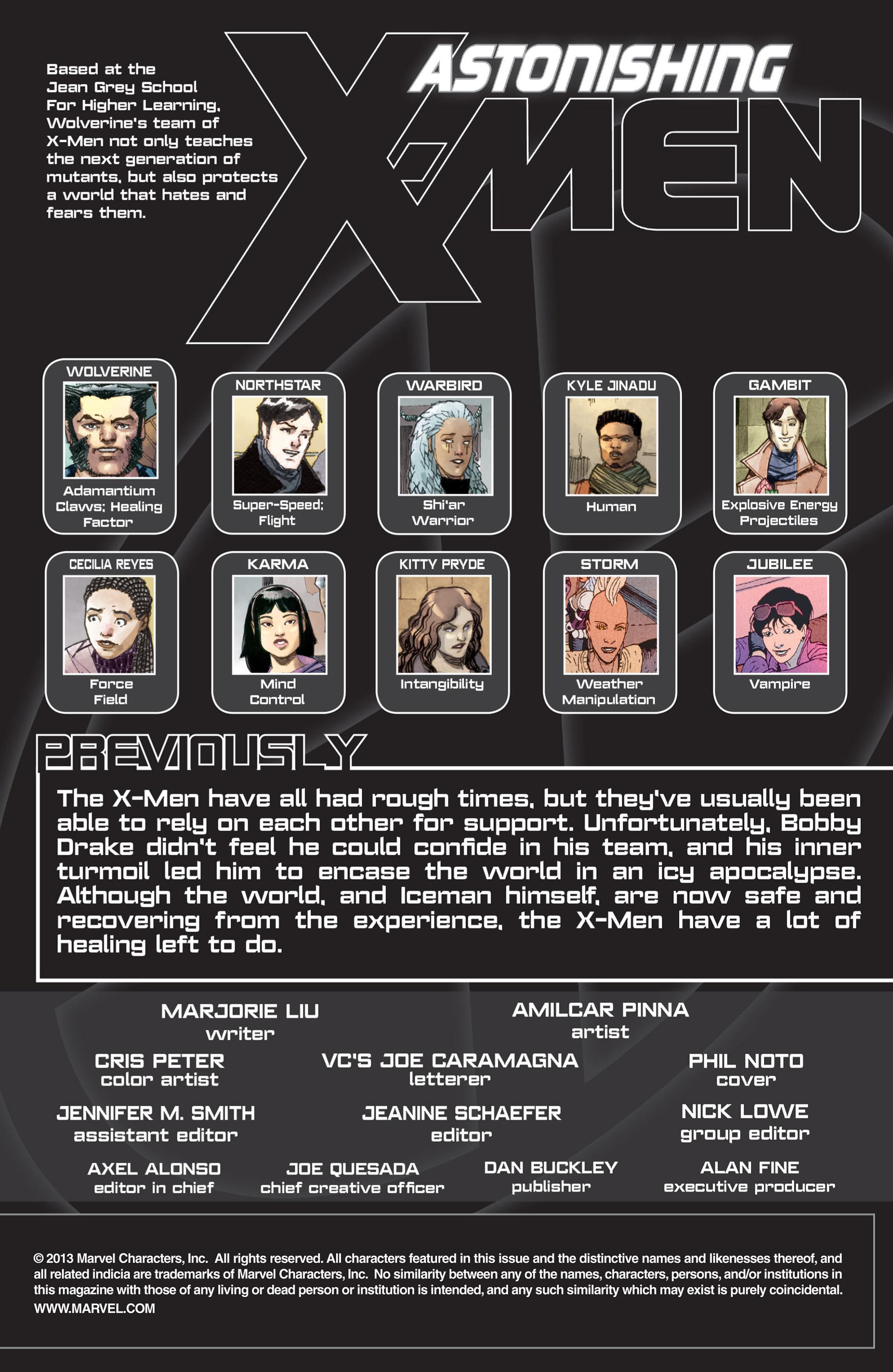 Read online Astonishing X-Men (2004) comic -  Issue #66 - 2