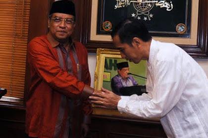 Presiden Jokowi Undang KH Said Aqil ke Istana, Ini yang Dibicarakan