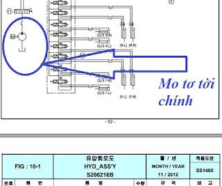 Mô tơ - motor thuỷ lực tời chính cẩu Dongyang SS1406 chính hãng Hàn Quốc