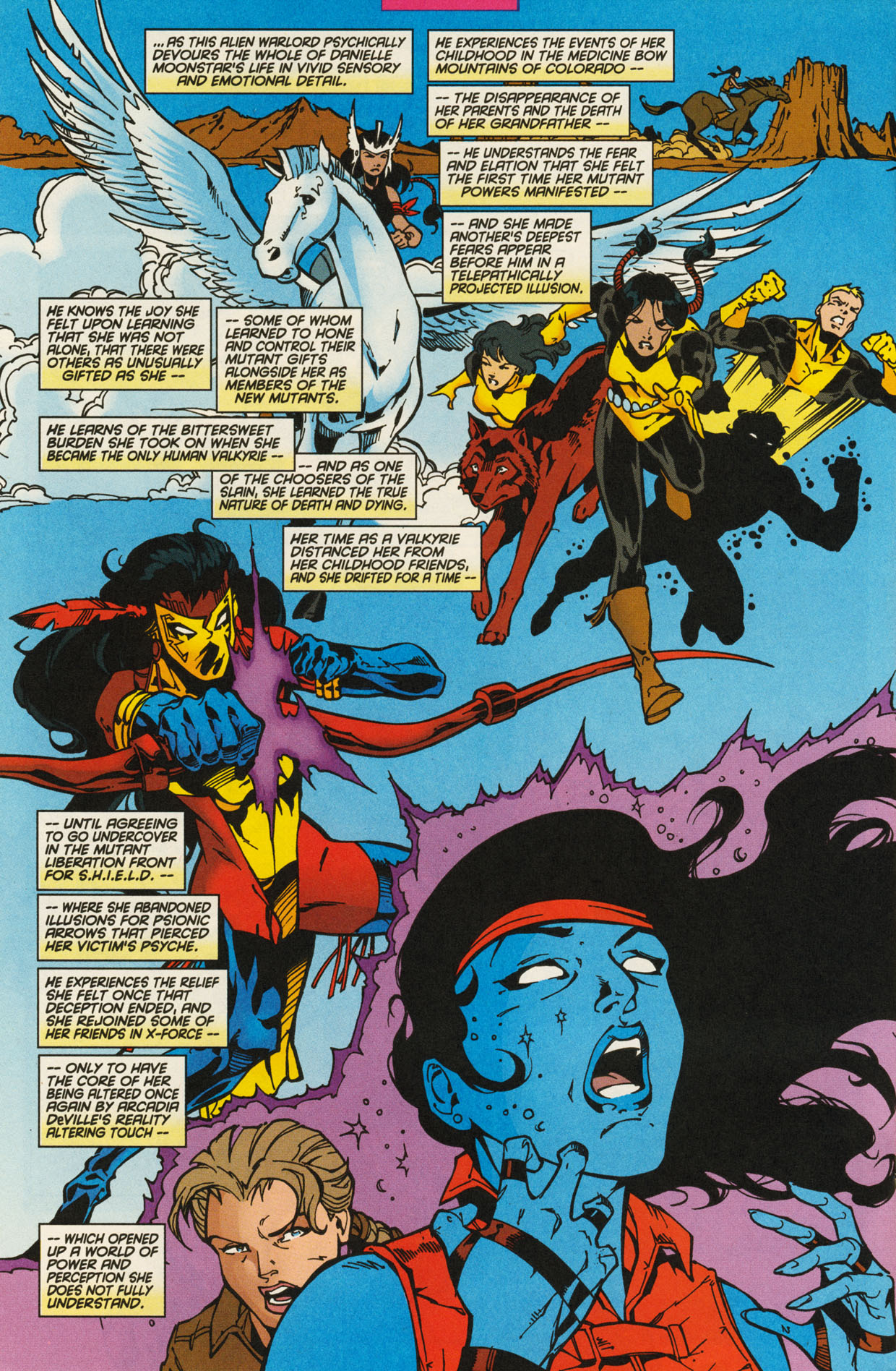 Read online X-Force (1991) comic -  Issue #93 - 22