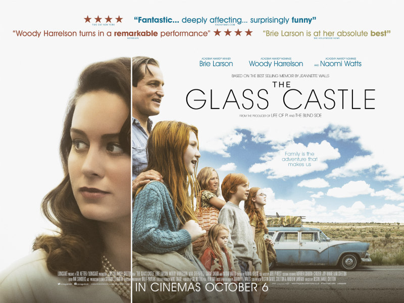 the glass castle uk poster