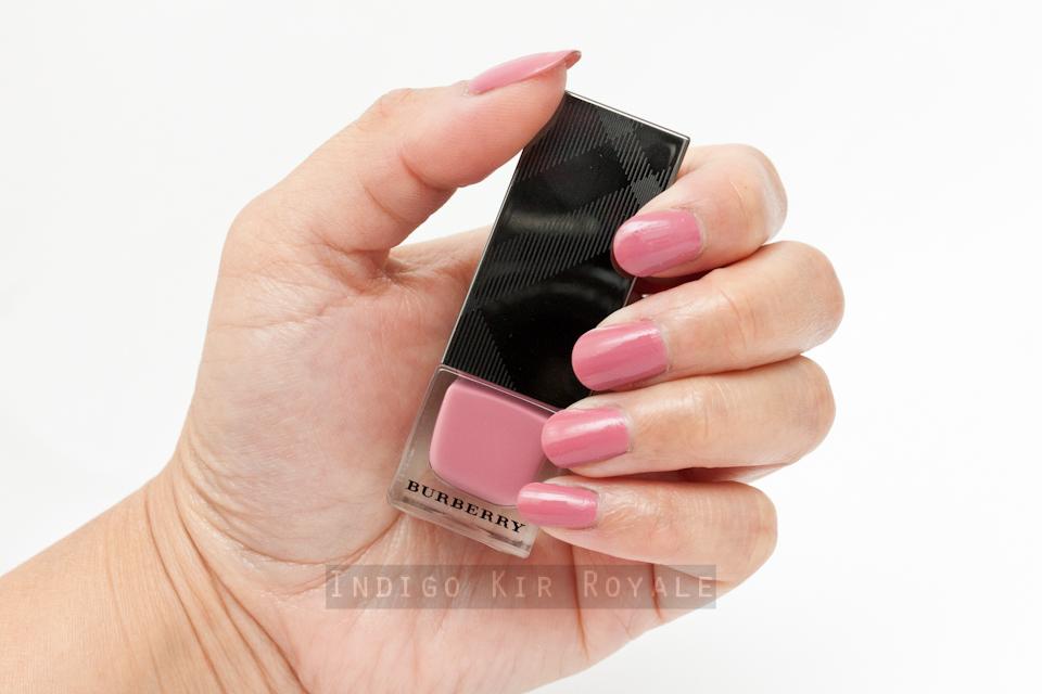 Burberry Rose Pink Nail Polish Best Nail Designs 2018