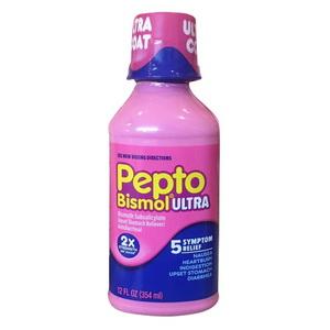 Siro Hỗ Trợ Giảm Đau Dạ Dày Tiêu Hoá Pepto Bismol Ultra Liquid Của Mỹ
