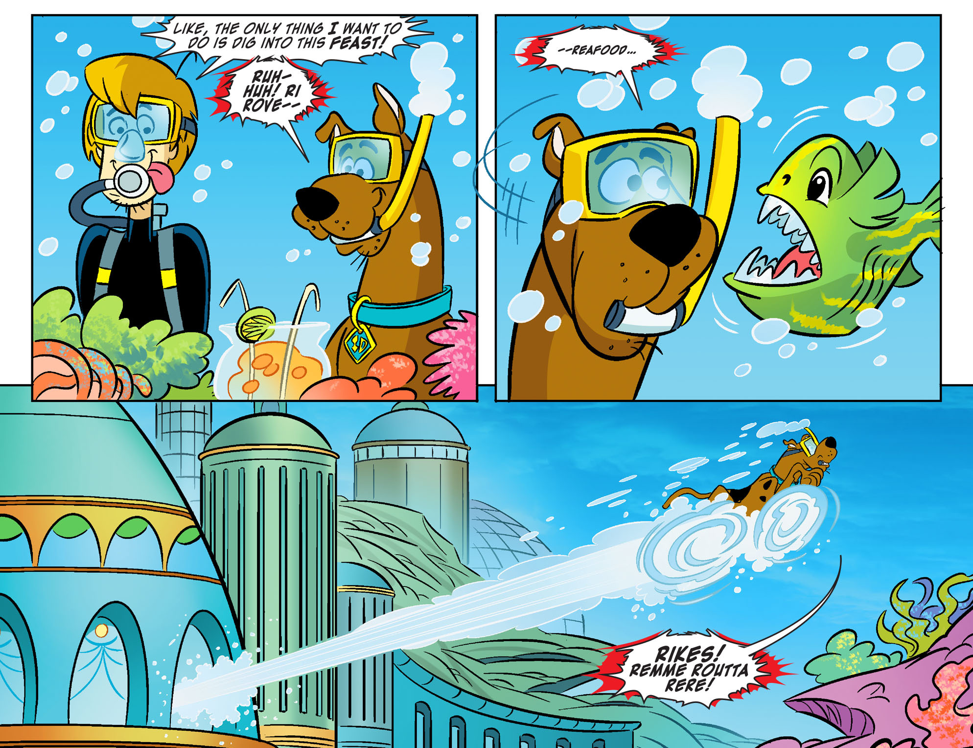 Read online Scooby-Doo! Team-Up comic -  Issue #28 - 21