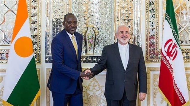 Iran resolved to enhance ties with Niger: Iranian Foreign Minister Mohammad Javad Zarif