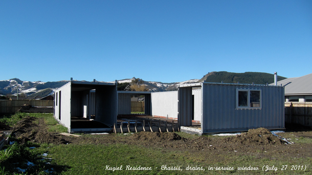 Shipping container homes 3x 40ft 1x 20ft shipping - 40ft shipping container home ...