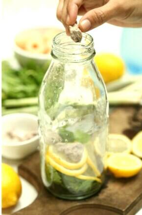 Air Lemon Soda Dengan Asam Boi Paling Sedap Untuk Hari Raya