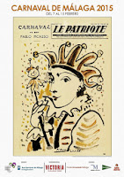 Carnaval de Málaga 2015 - Pablo Ruiz Picasso -  Para el periódico de Niza 'Le Patriote' del 18 de febrero de 1958