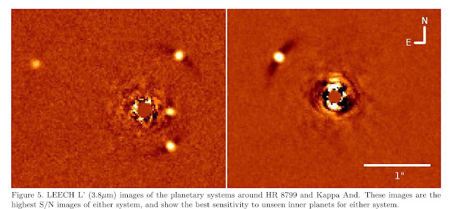 One example of the LBTI technique imaging exoplanets around their star (Source: A. Skemer, et al,arXiv:1407.2876v1)
